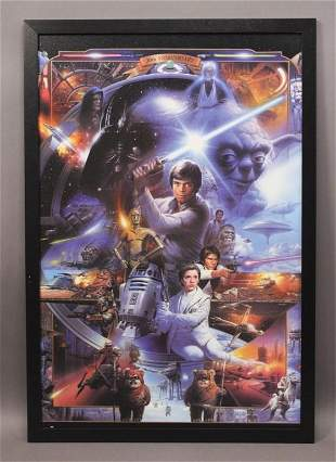 Star Wars 30th Anniversary Framed Picture Print