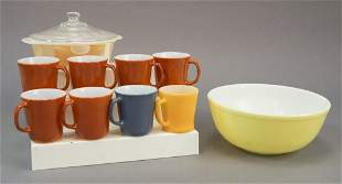 Assorted Pyrex & Fire King Collection
