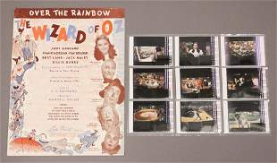 Wizard of OZ Over the Rainbow Sheet Music & Extras