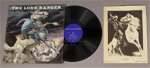 Lone Ranger Vinyl Radio Record Picture