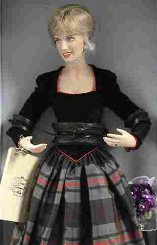 Franklin Mint Diana Princess of Wales Doll