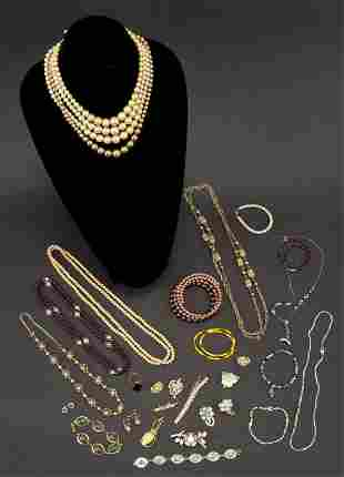 Estate Jewelry Necklace Bracelet Rings