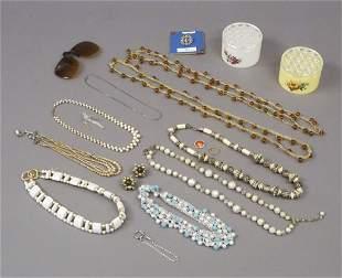 Assorted Estate Jewelry Necklaces Bracelets