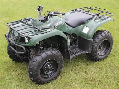 2011 Yamaha Grizzly 350 IRS Utility ATV 4 Wheeler