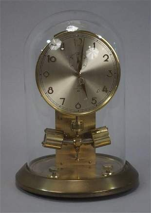 German Junghans ATO Clock with Globe - Very Nice