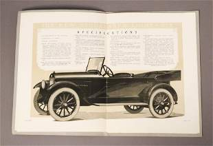 1922 Light Six Studebaker Instruction Book