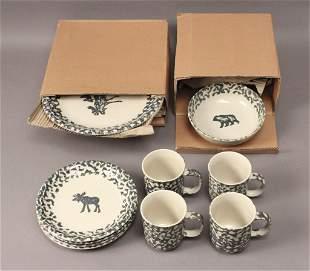 Tienshan North Country Dish Set - 16 Piece Set