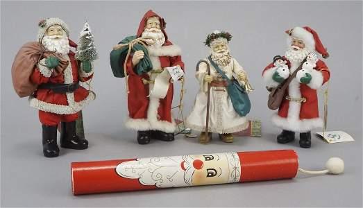 4 Clothtique Possible Dreams Santa