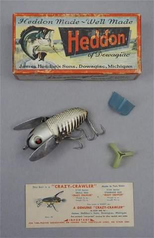 Heddon Crazy Crawler 2120 XRS Fishing Lure in Box