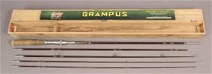 8' - 5 Piece Grampus Split Bamboo Rod with Case