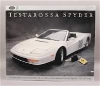 Testors Testarossa Spyder 1:8 Scale Model Car Kit