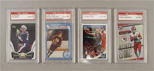 84 Assorted Sports Trading Cards Brady Curry