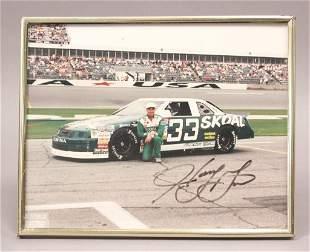Harry Gant 33 NASCAR Autographed Photo