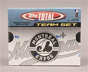 2004 Topps Total Montreal Expos Team Set