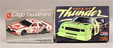 2 Race Car Model Kits  Citgo  Days of Thunder