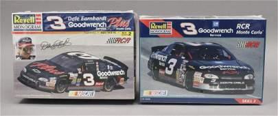 2 Revell NASCAR Dale Earnhardt Sr Model Car Kits