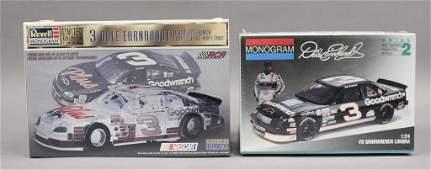 2 Dale Earnhardt 3 Nascar Model Car Kits