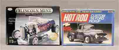 2 Ford Model Car Kits  Roadster  Pickup