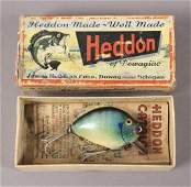Heddon Pumpkin Seed Lure # 730BGL in the Box