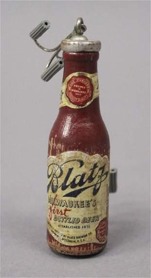 Blatz Beer Vintage Advertising Fishing Lure