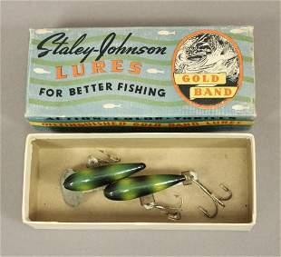 Staley-Johnson Twin-Minn Fishing Lure with Box