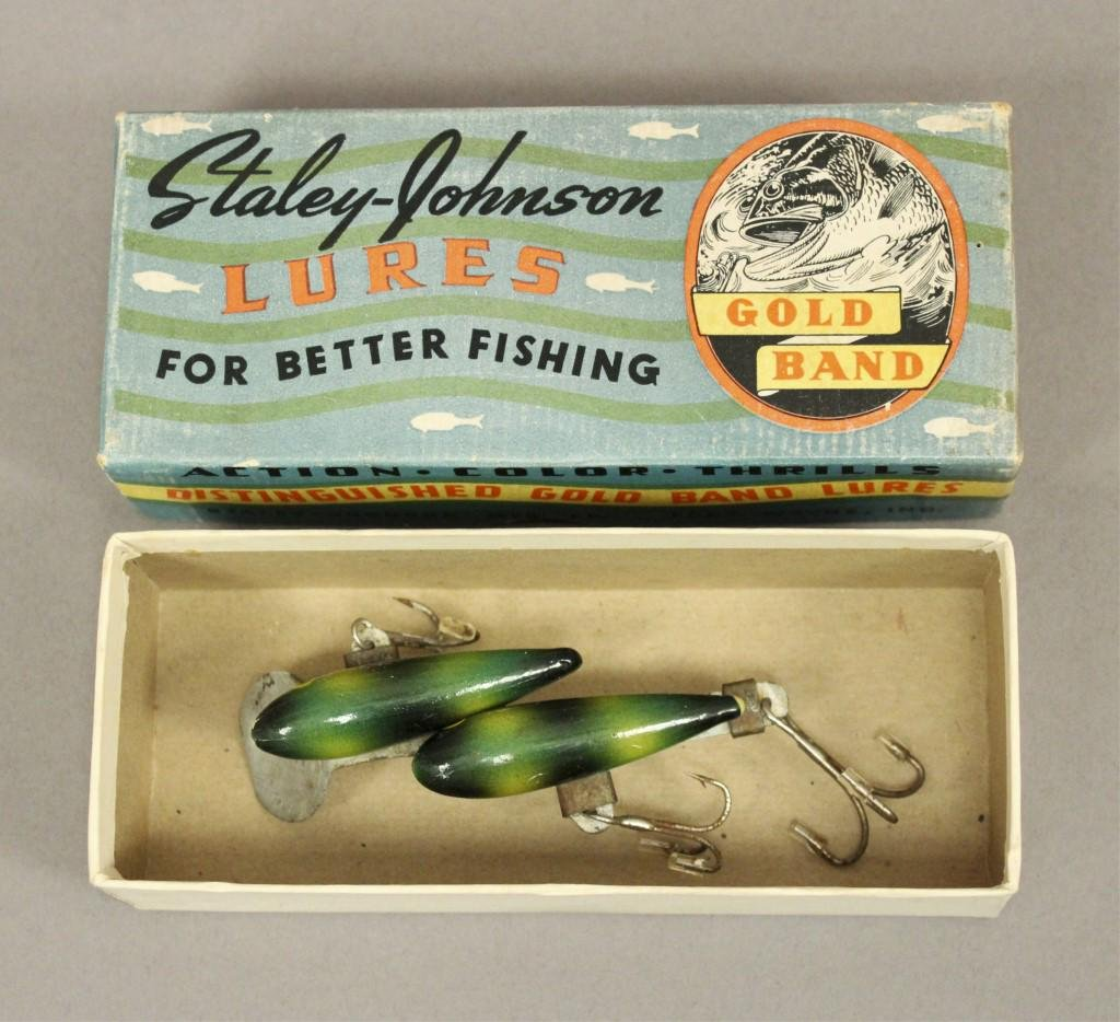 Staley-Johnson Twin-Minn Fishing Lure with Box