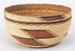 Pomo Native American Indian Basket