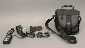 Sony Handy Cam Video Camera with Bag