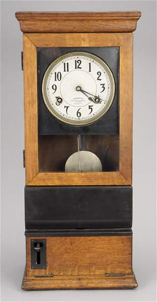 Antique International Recording Co Wall Clock