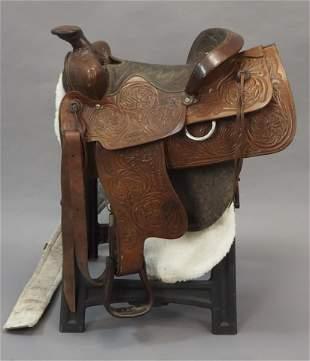 Royal King Size 16 Western Saddle