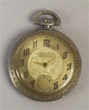 Van Buren Watch Co. Nickel Swiss Pocket Watch