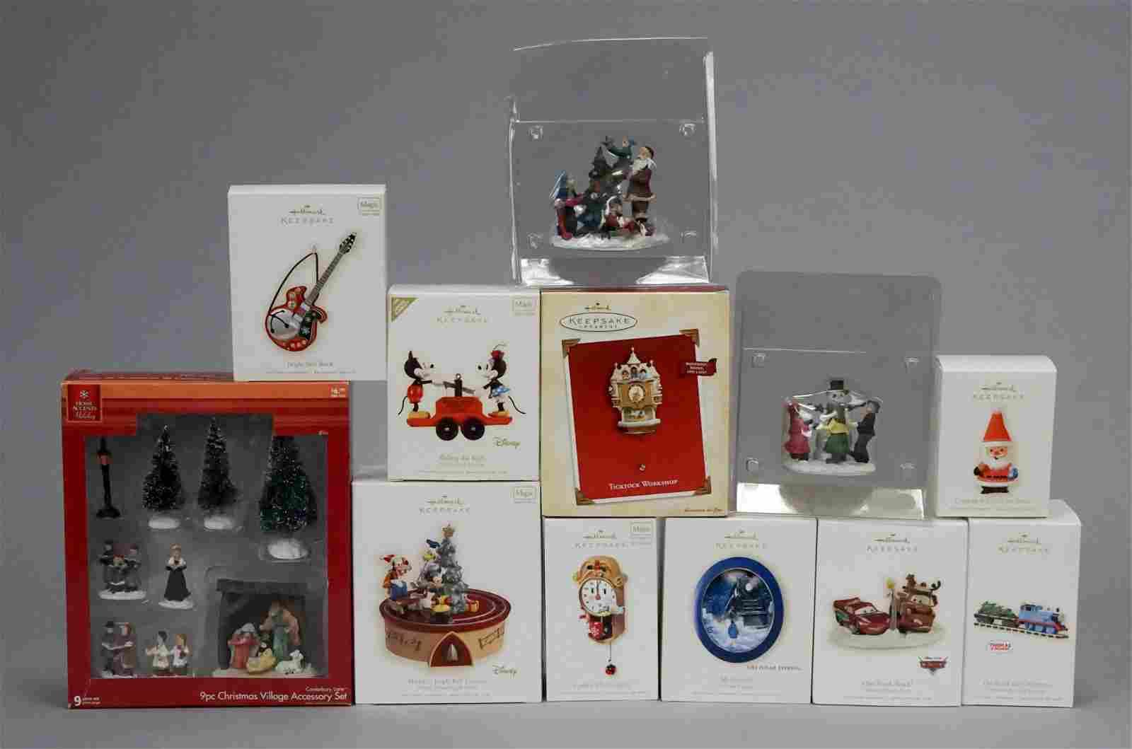 Hallmark Christmas Ornaments & Village Accessories