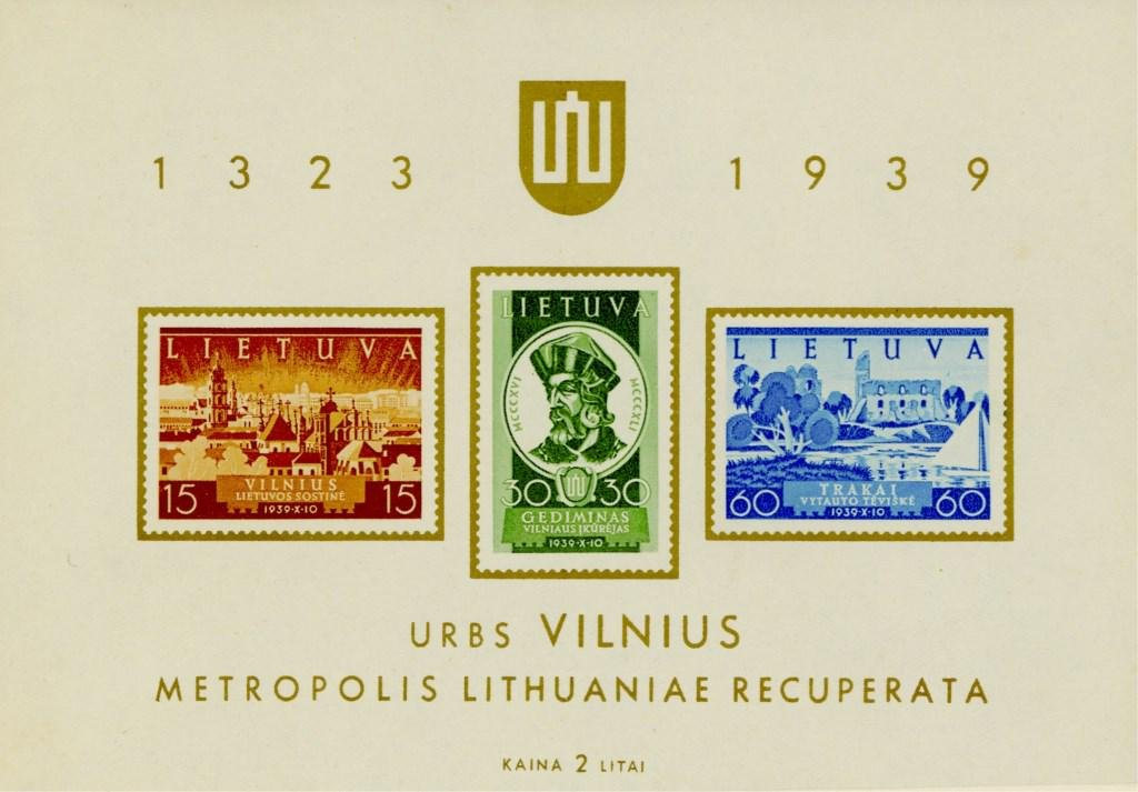 75 Lithuanian Stamps 1921 - 1940