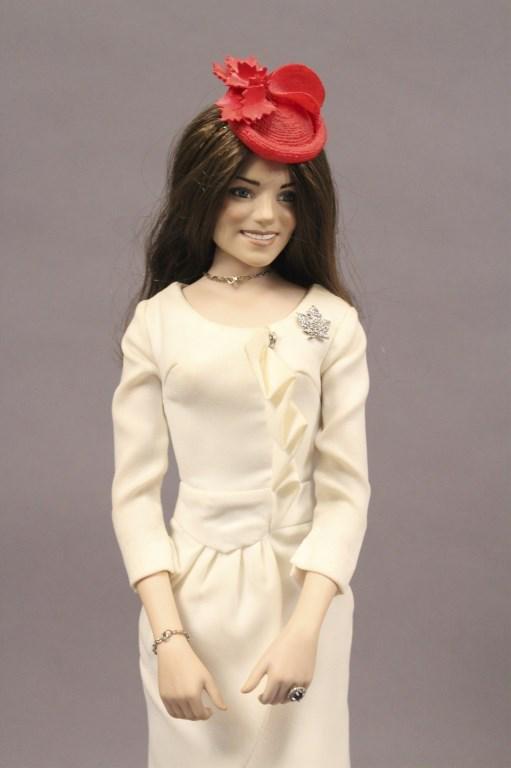 Danbury Mint Porcelain Kate Middleton Fashion Doll