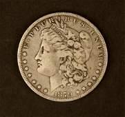 1879 Morgan Silver $1 Coin
