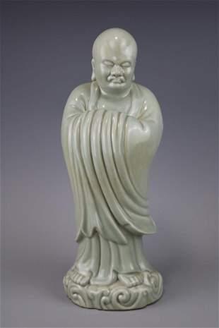 A BeanGreen Glazed Dharma