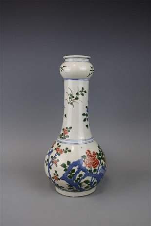 Kangxi Mark A Famille Verte Vase