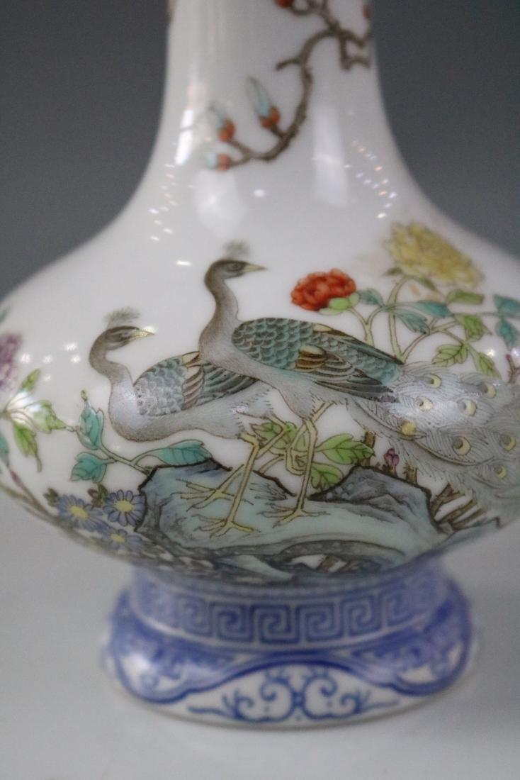 Qianlong Mark,An Enamel Decorate Vase - 3