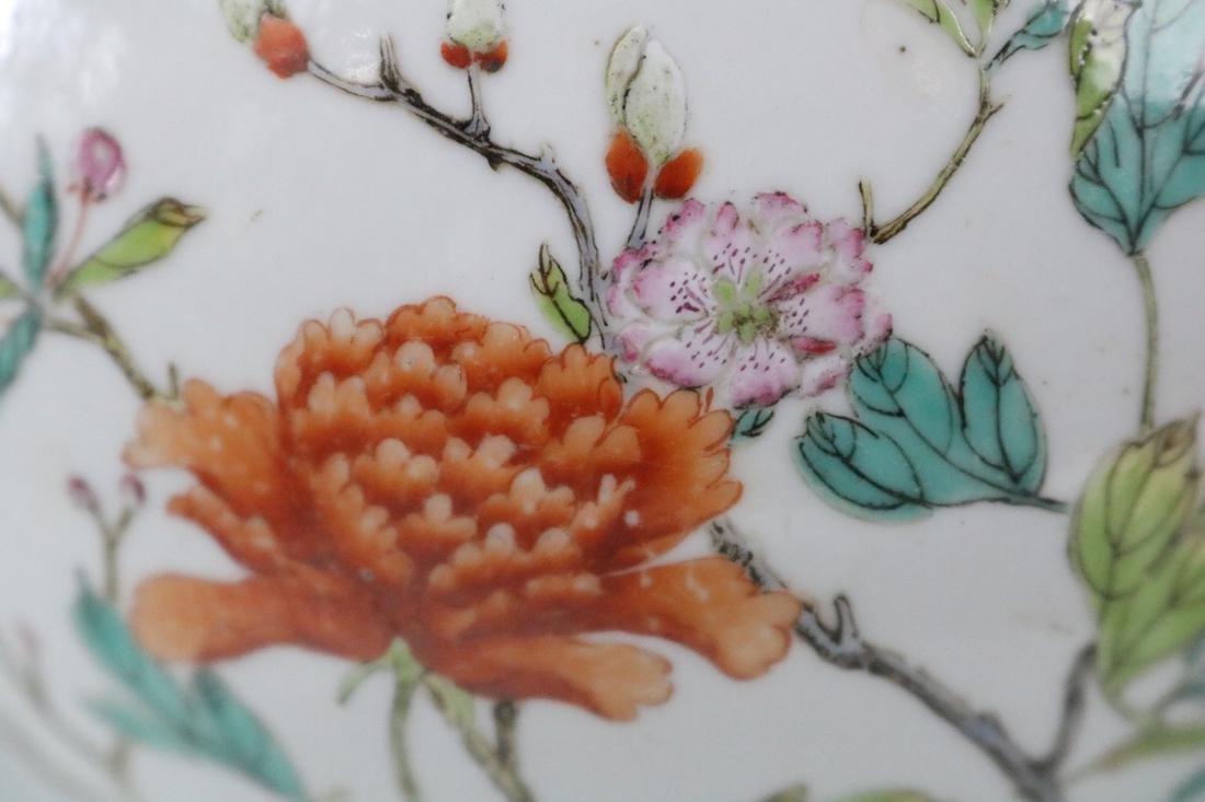 Jiaqing Mark,A Famille Rose Vase - 4