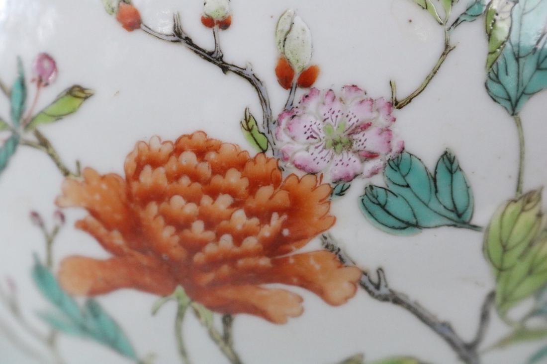 Jiaqing Mark,A Famille Rose Vase - 5