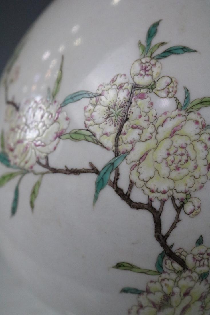 Qianlong Mark,A Famille Rose Vase - 6
