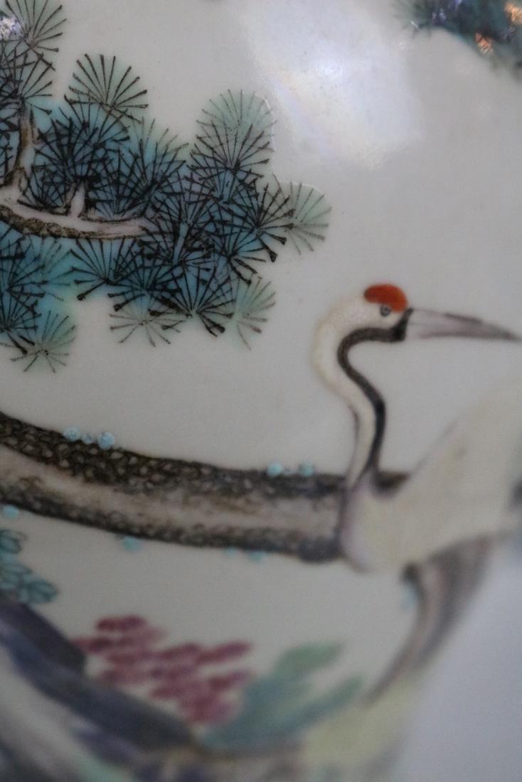 Yongzheng Mark,A Famille Rose Vase With Human Pattern - 5