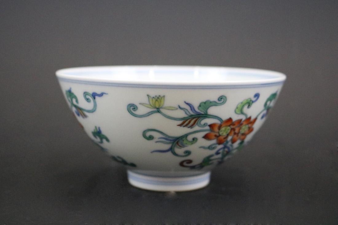 Yongzheng Mark,A Doucai Bowl