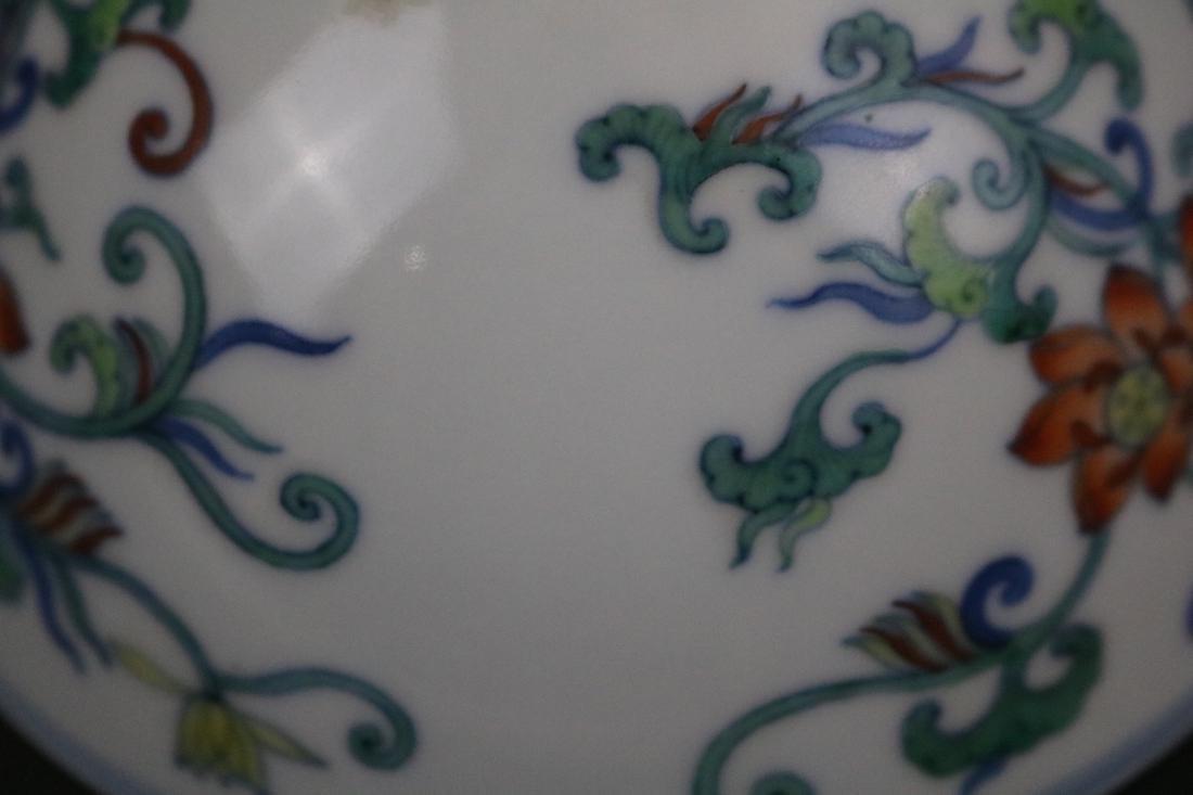 Yongzheng Mark,A Doucai Bowl - 6
