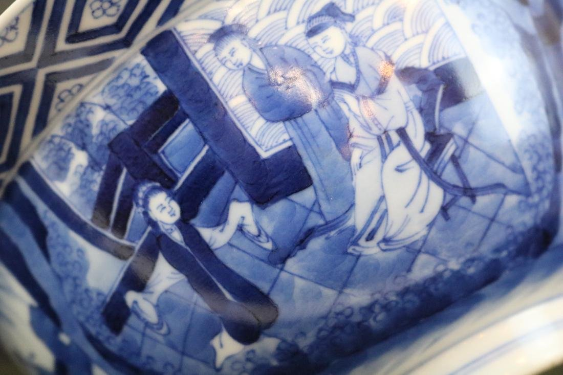 Kangxi Mark,A Blue And White Bowl - 6