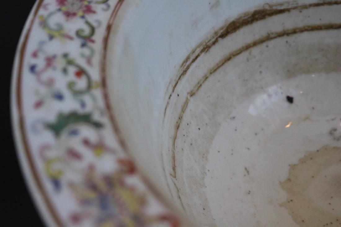 Shendetang Mark,A Famille Rose Flowerpot - 4