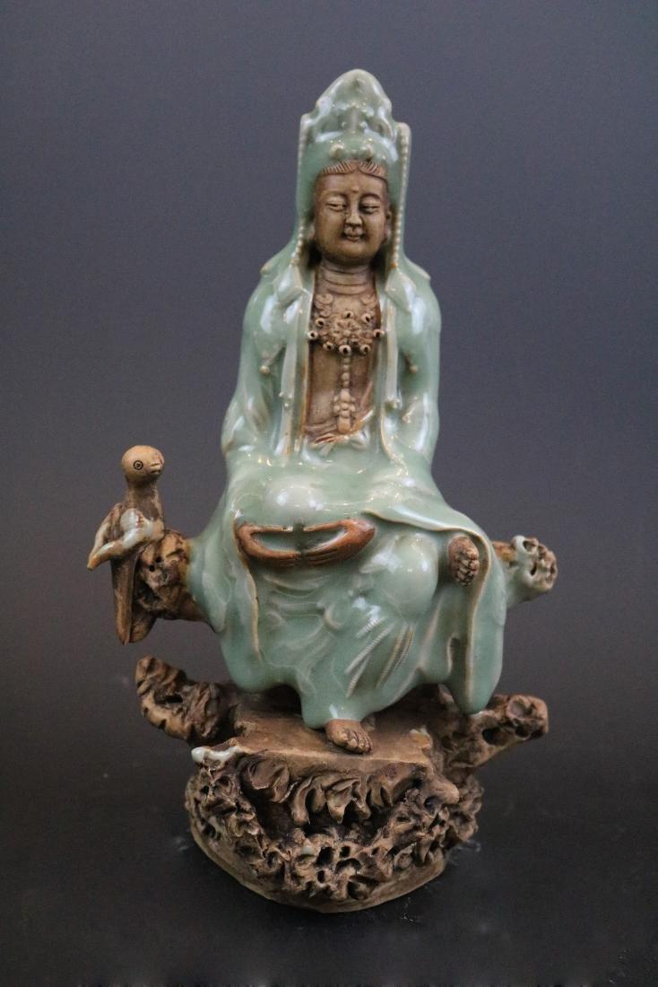 A Longquan Guanyin