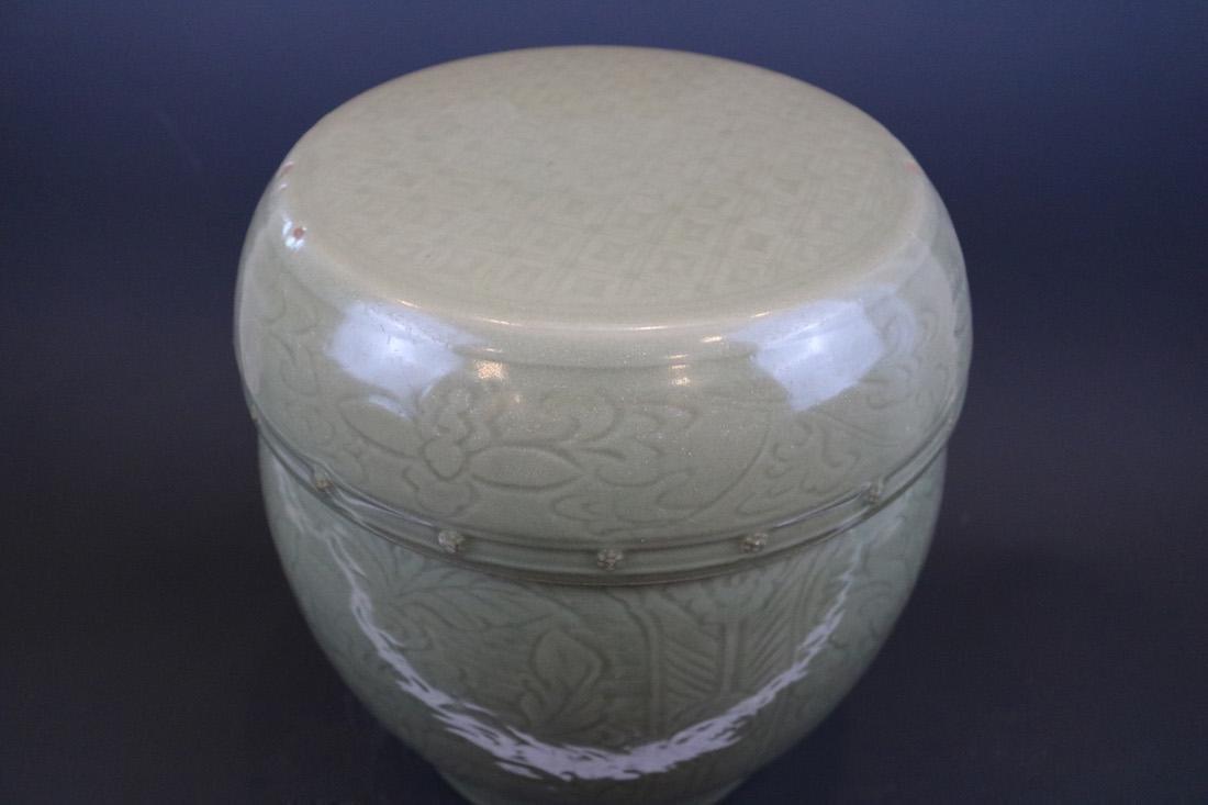 A Longquan Ware Drum Bench - 2