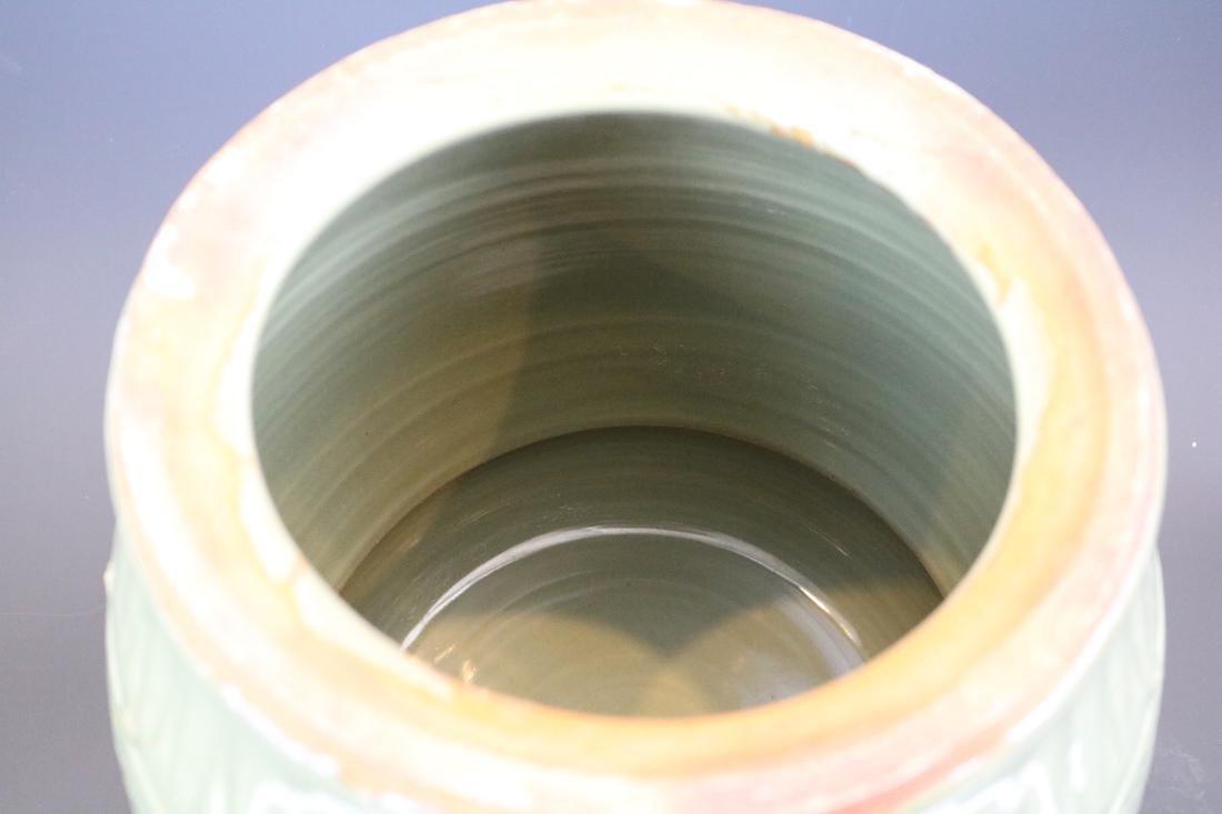 A Longquan Ware Drum Bench - 6