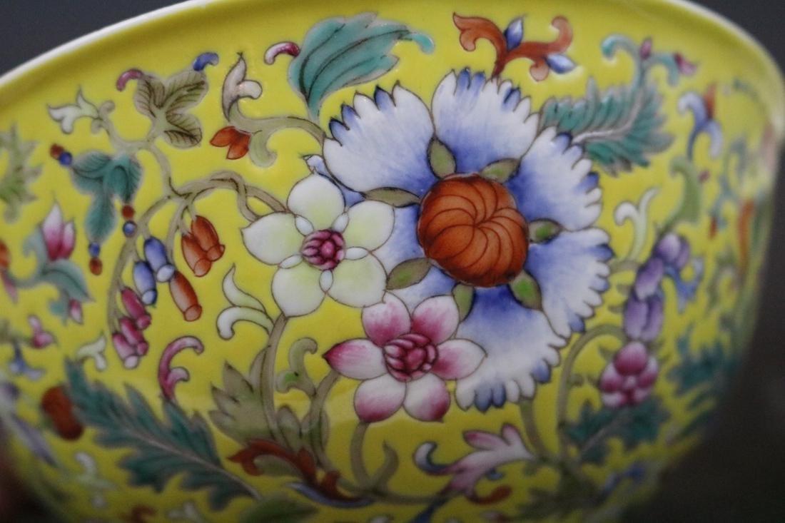 Qianlong Mark,A Pair Of Enamel Decorate Bowls - 3